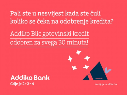 Addiko Bank Addiko Blic Gotovinski Kredit