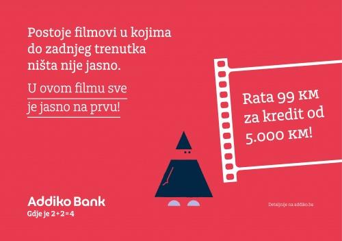 Addiko Blic Gotovinski Kredit Vizual