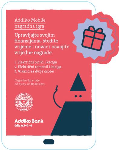 Addiko Mobile Nagradna Igra 1