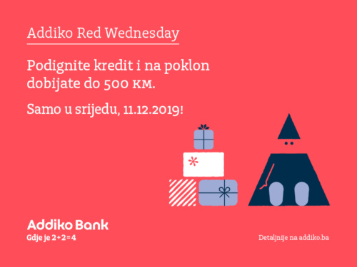 Addiko Red Wednesday