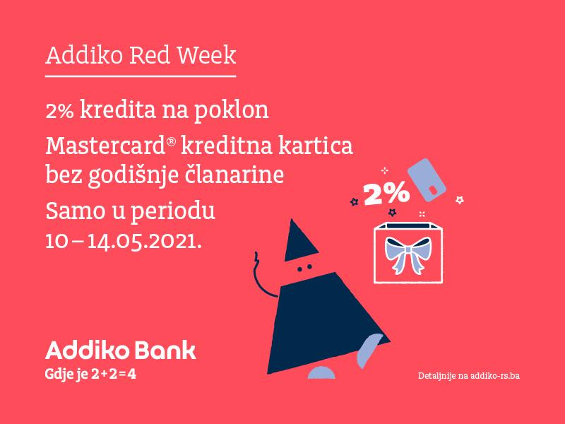 Addiko Red Week U Maju