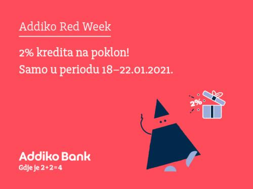 Addiko Red Week 18 22012021