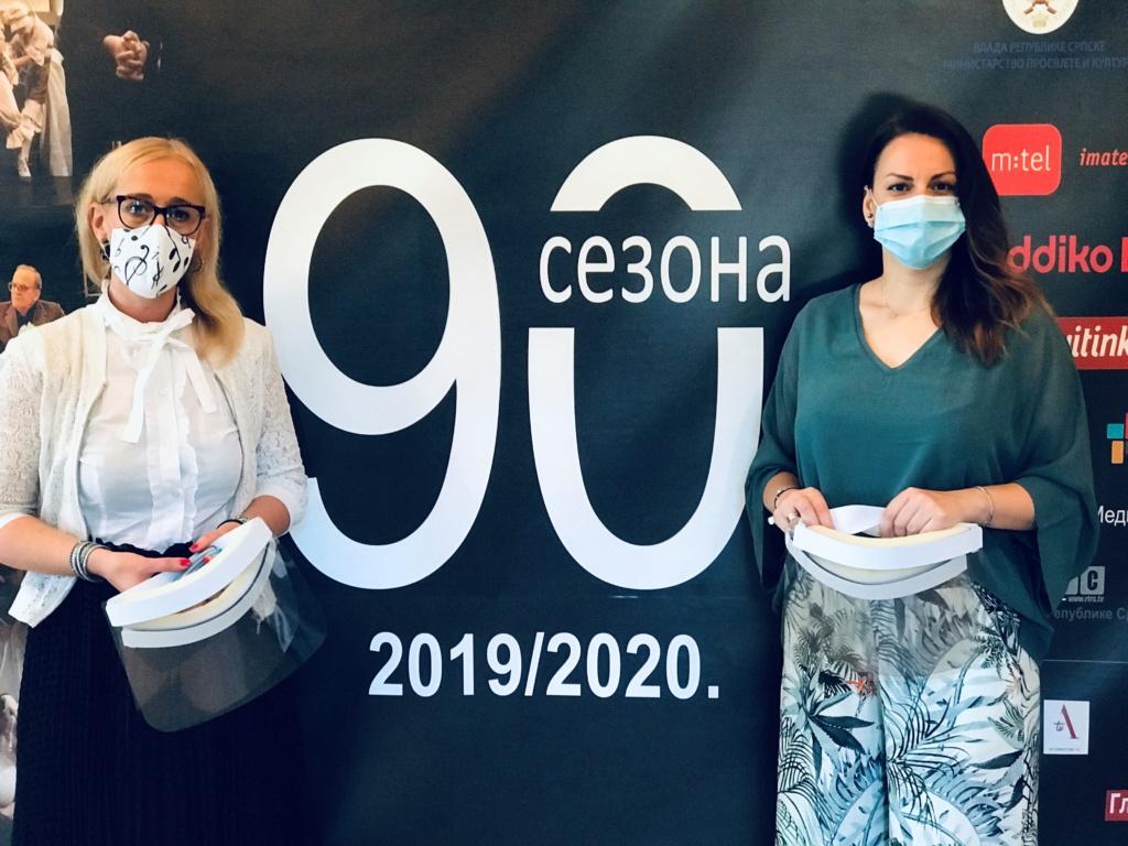 Dodig Panic Donacija Addiko Banke Narodnom Pozoristu Republike Srpske