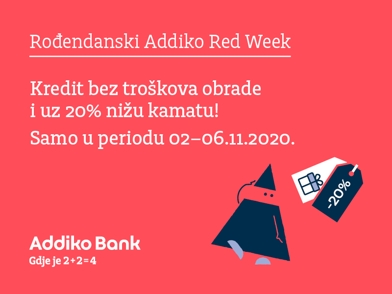 Rodjendanski Addiko Red Week